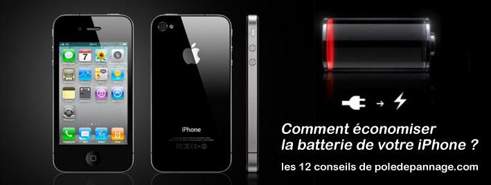 Pole Dépannage Informatique Valence : Comment économiser la batterie de votre iPhone