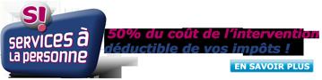 Voyez comment bénéficier du crédit d'impôt de 50% avec Pôle-Dépannage Informatique PC & Mac à Valence